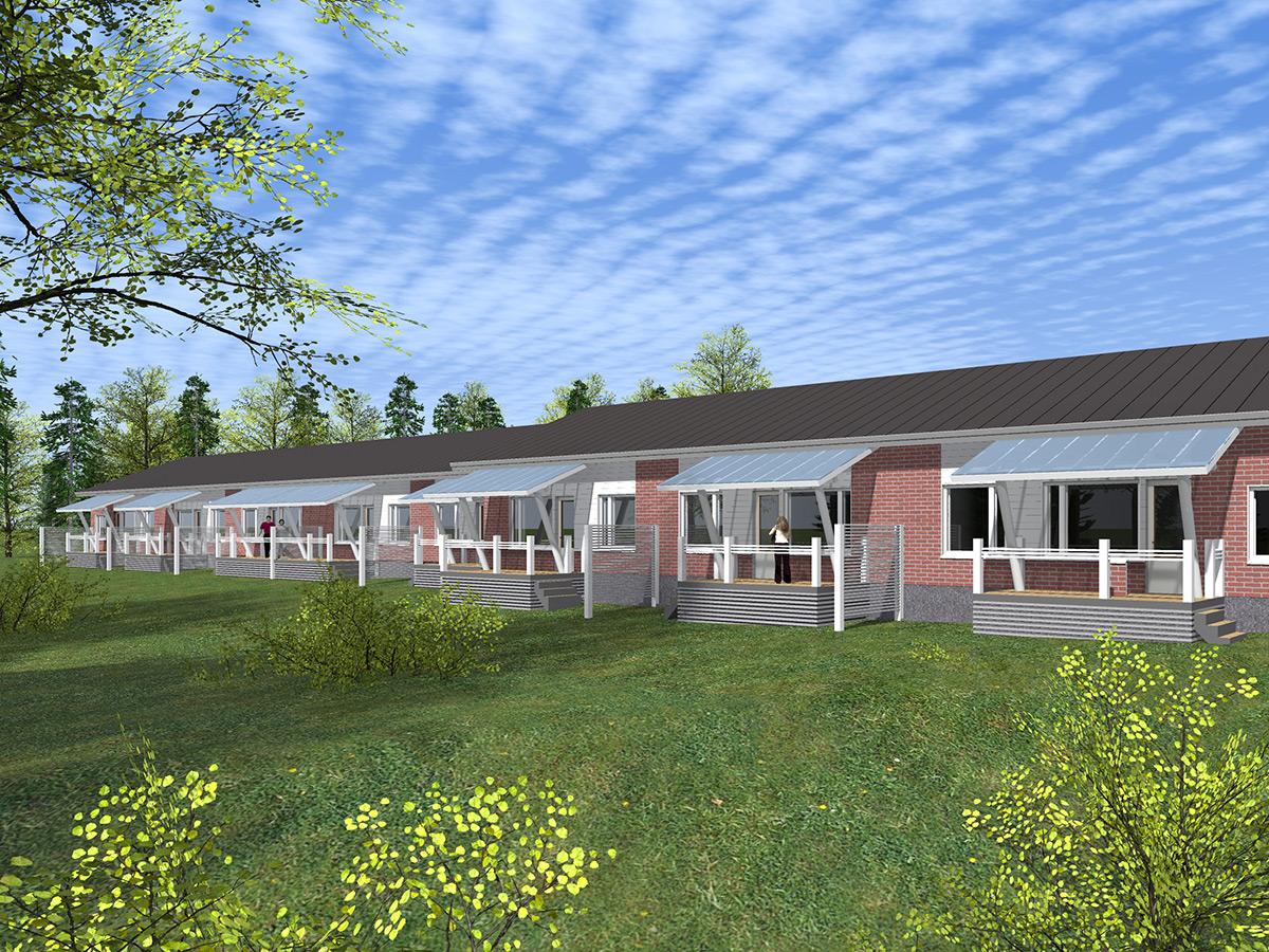 RM-rakennus rakentaa Haukkamäkeen